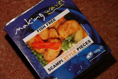 Vegetarian Scampi - Photo credit: Nick Bailey