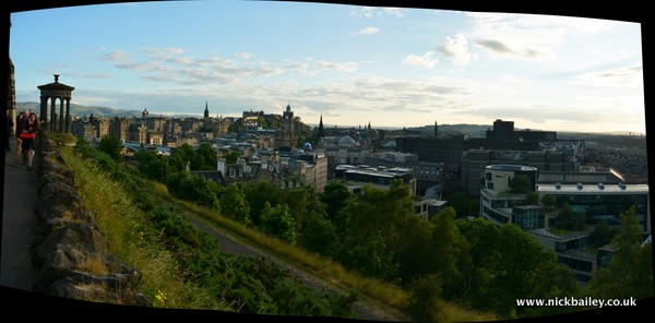 Edinburgh Skyline HDR - Photo credit: Nick Bailey