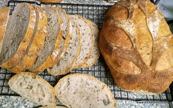 real bread. © Nick Bailey