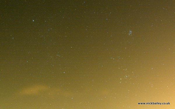 Wide Field Pleiades. © Nick Bailey