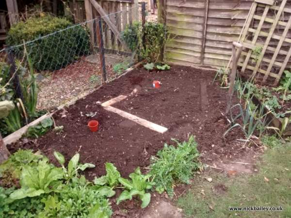 Digging the vegetable patch. © Nick Bailey