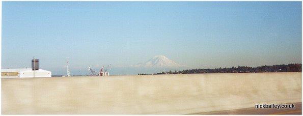 Mt Rainier, Washington State in 2000. © Nick Bailey