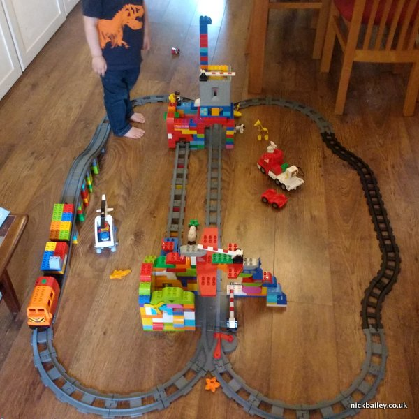 Duplo Train Track. © Nick Bailey