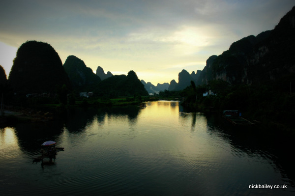 Yangshou near Guilin. © Nick Bailey