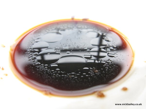 sesame oil and soy. © Nick Bailey